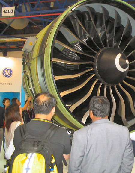 GE jet engine