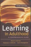 learning in Adulthood - cover