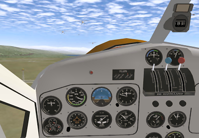 FlightGear open source flight simulator