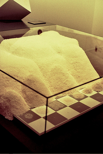 rice on a chessboard