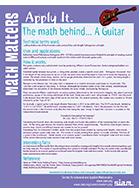 Math behind guitars