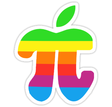 Apple Pi, for Pi Day 3/14
