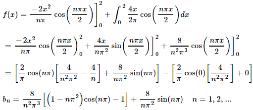 Rendered math equation - image