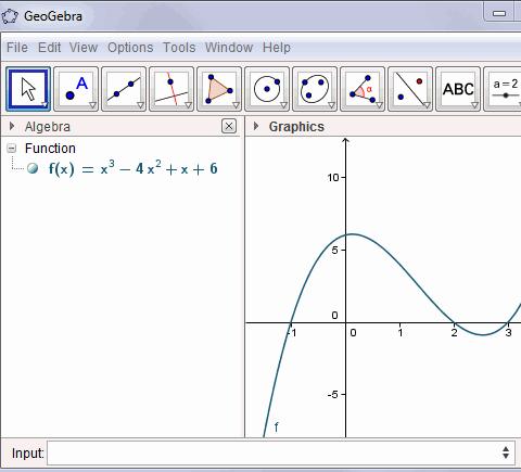 GeoGebra math software - a review