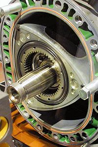 Wankel rotary engine is based on Reuleaux triangle