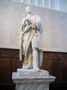Isaac Newton statue, Cambridge University