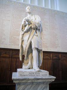 Isaac Newton statue, Cambridge University