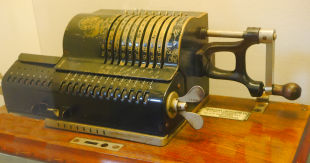 Brunsviga Pinwheel Mechanical Calculator