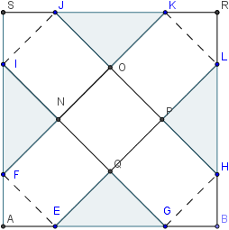 net for closed cube - whole sheet 1