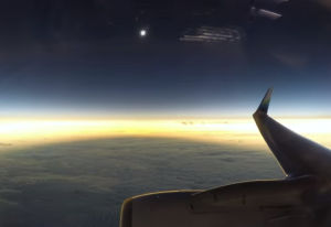 AlaskaAir total eclipse