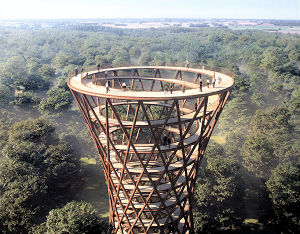 EFFEKT observation tower.