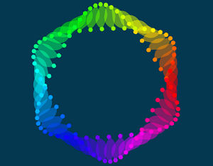 CSS Animated Hexagon Wave