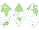 Map Projections on the Web: interactive