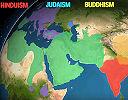 Spread of world religions