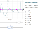 Degree and roots of a polynomial equation