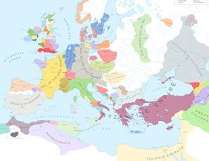 Europe 900AD