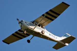 Cessna taking off