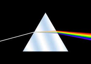 prism rainbow math Fourier series spectrum